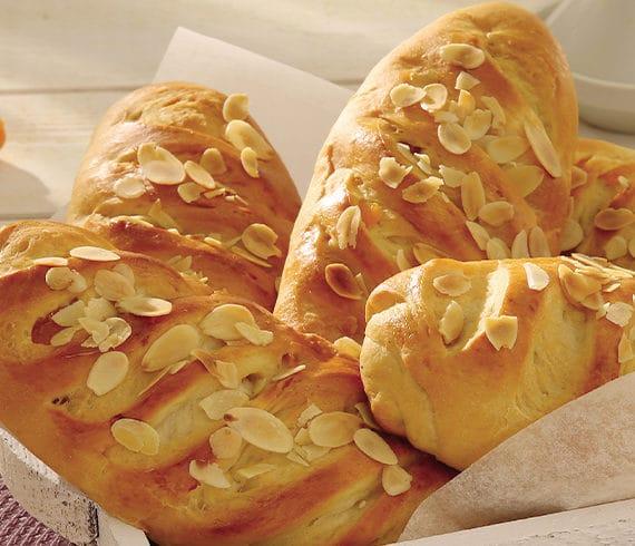 pain amandes abricots