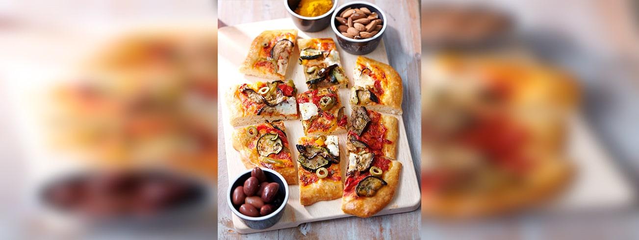 Pizza-legumes