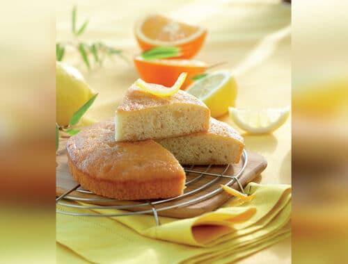 Pain au zeste de citron et d'orange
